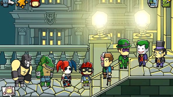 Scribblenauts Unmasked: A DC Comics Adventure adds many superheroes to the game