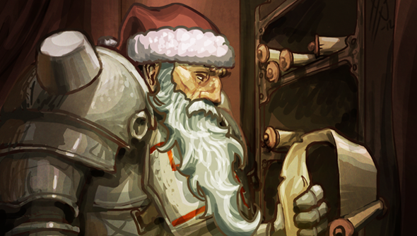 Scrolls owners can gift a free copy to a friend.