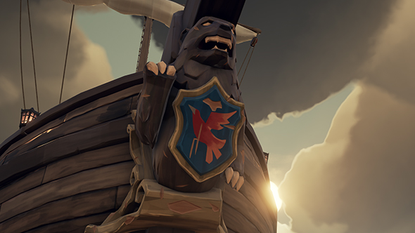 sea of thieves bear bird figurehead