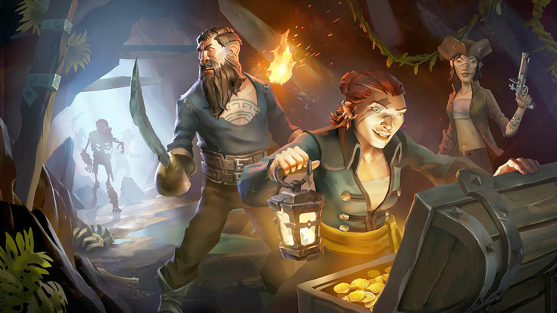 sea of thieves cursed chests