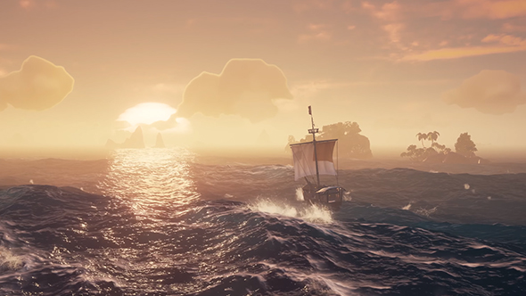 """Dunk Island Cave: Sea Of Thieves' Swashbuckling Is Like """"improv Comedy That"""