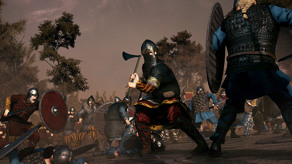 Seaxe axeman total war saga: thrones of britannia