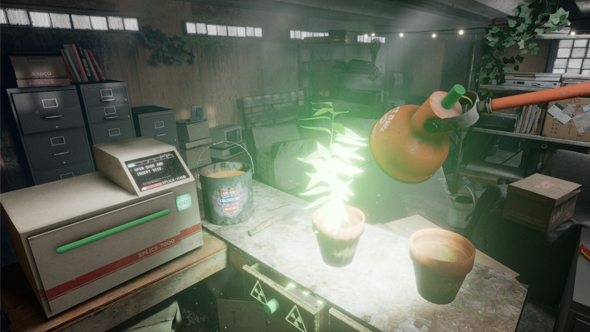Finally, a VR game that lets you use radioactive material while gardening