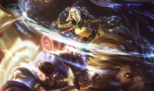 Sejuani Dawnchaser updated Splash art League of Legends patch 622