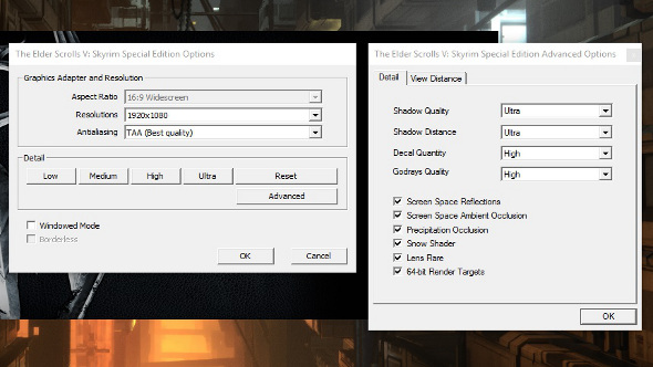 how to fix skyrim special edition launch