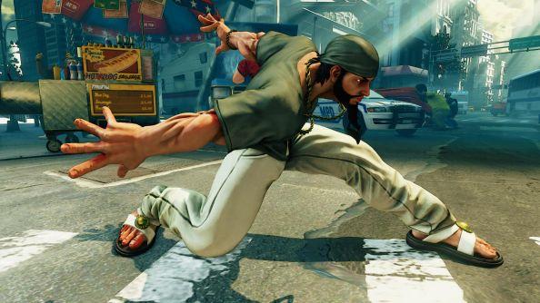 Street Fighter 5 rashid story mode costume