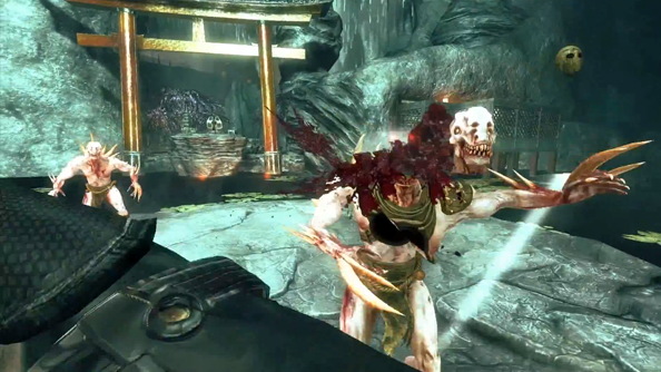 Shadow Warrior shows more decapitations than any other video released today