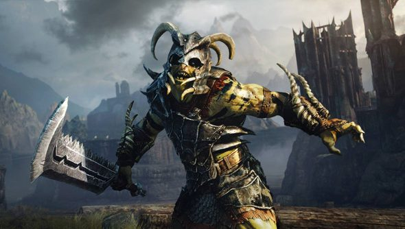 Shadow of Mordor: mean and green.