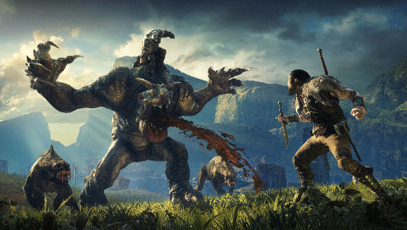 Shadow of Mordor Lord of the Hunt DLC Monolith