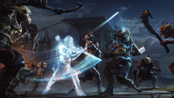 shadow of mordor lord of the hunt dlc monolith warner brothers