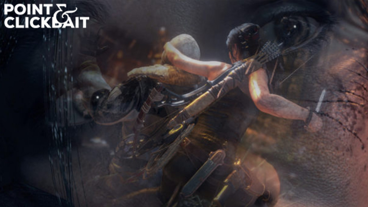 Faceless Goons Eager To Help Young Inexperienced Lara Croft