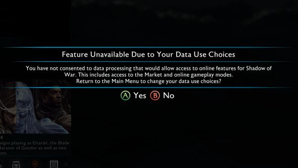 Shadow of War loot boxes disabled