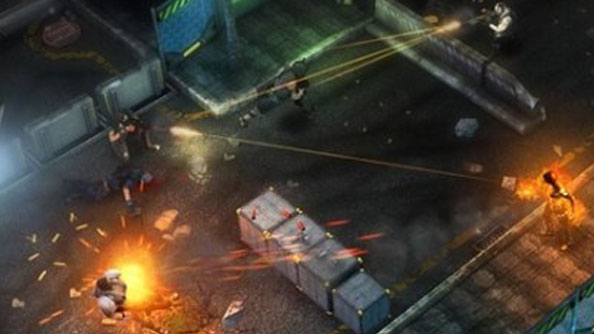 Shadowrun Returns in-game footage shows swords, gorgeous artwork, and magic