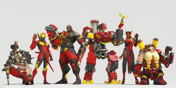 Shanghai Dragons skins