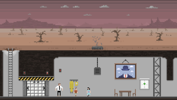 Nuclear family: manage and protect a post-apocalyptic household in Sheltered