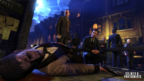 Sherlock Holmes: Crimes and Punishments is pretty enough to make you forget Victorian child mortality rates
