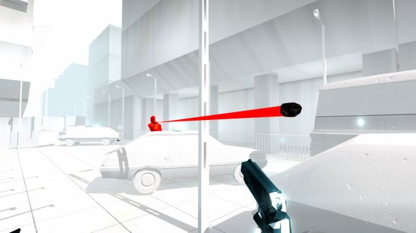 New SUPERHOT footage shows story mode, spooky messages