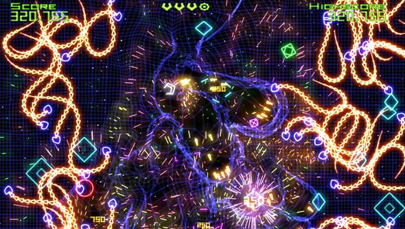 Geometry Wars returns to the light.