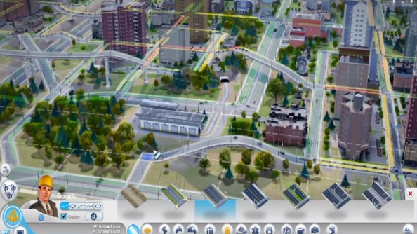 SimCity update 7's road bridges and tunnels should put paid to traffic problems