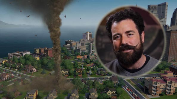 SimCity footage shows multiplayer city integration with voice over from well spoken developer