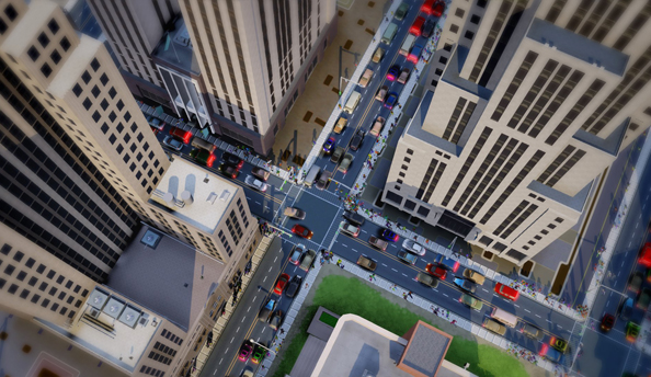 SimCity update 2.0 will fix recycling centre bug and streetcars