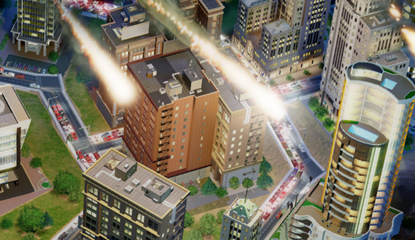 """SimCity servers """"response time [up] by 40x"""" and """"doubled the number of players"""""""