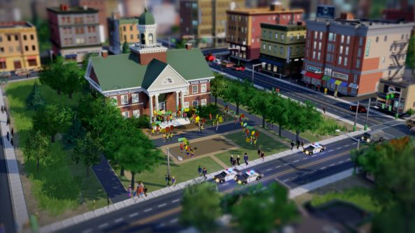 SimCity hands on: quite a turn on