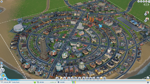 SimCity multiplayer regions may become plagued by ghost towns