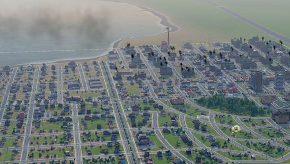 SimCity: nuts to city limits.