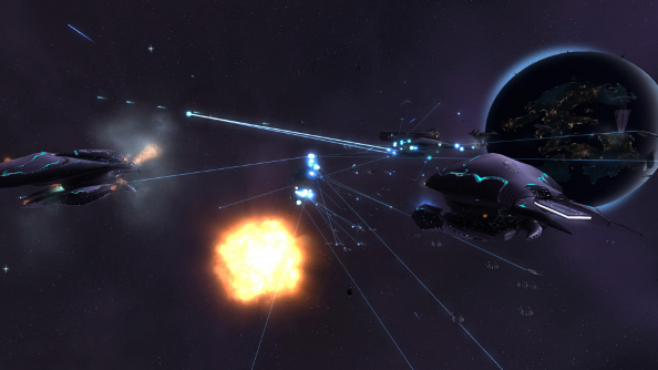 Best space game Sins of a Solar Empire: Rebellion