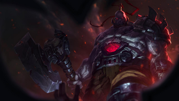 League of Legends' Sion has been taken apart and put back together again