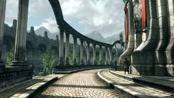 In Skyblivion, the Imperial tower casts an even more imposing shadow.