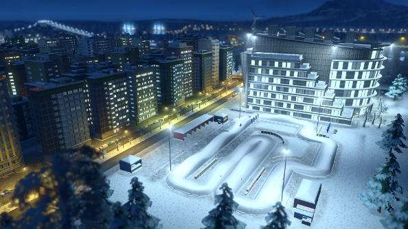 Freezing a city to death in Cities: Skylines – Snowfall
