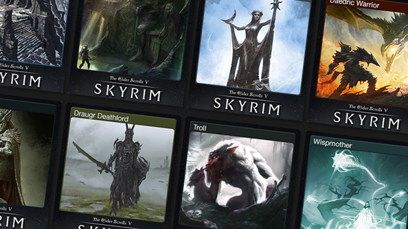 Skyrim gets Steam Trading Cards, and consequently so will you