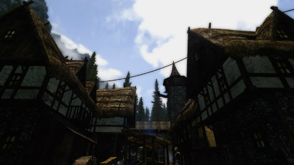 Hefty 4GB Skyrim mod adds more buildings, NPCs, personality to cities
