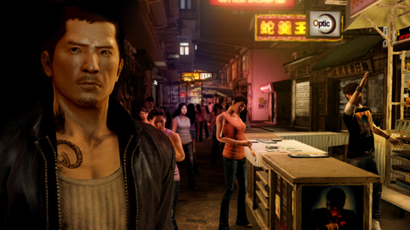 """Massively single player experience"" planned for cancelled Sleeping Dogs sequel, crime coordinated via cloud saves"