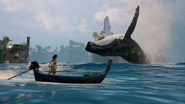 Boaty exploration-'em-up Submerged arrives on Steam next week