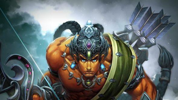 Rama: Hindu demigod, handy with a blade.