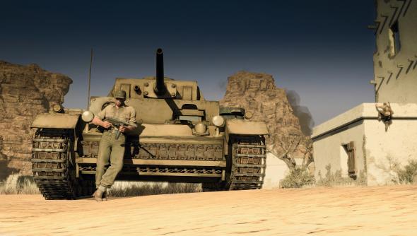Sniper Elite 3 tanks