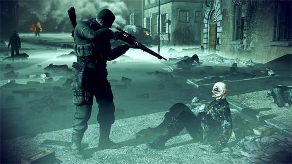 Sniper Elite: Nazi Zombie Army gets a free eBook all about zombies, Nazis and Hitler