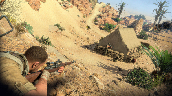 Get five minutes of Sniper Elite 3 footage in your sights