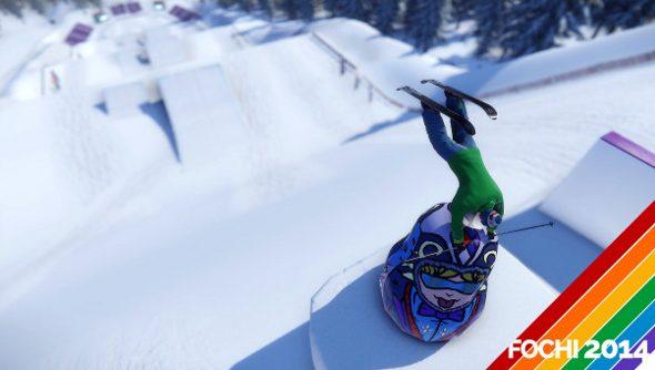 SNOW slopestyle run
