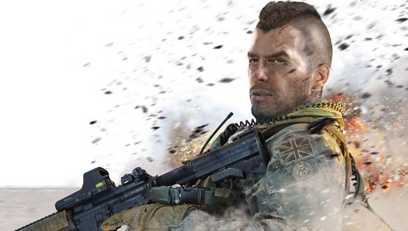 Remember that scene in Modern Warfare 2 when Soap pouted everybody to death? Brutal.