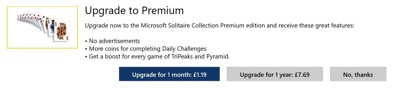 Windows 10 Solitaire