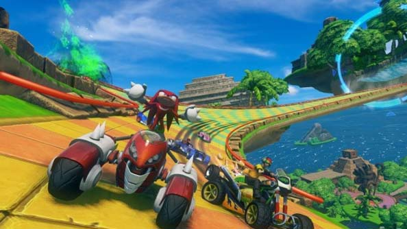 Sonic and All-Stars Racing: Transformed trailer reveals a Football Manager, the Team Fortress cast and others to appear in PC release