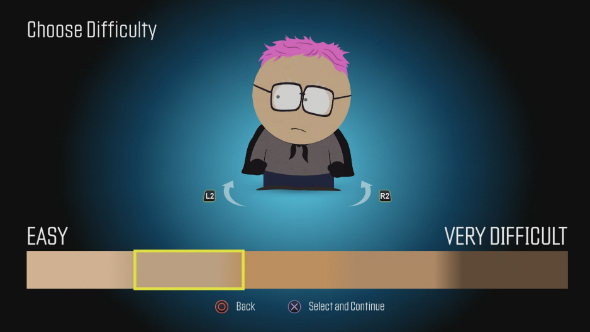 south park the fractured but whole skin colour difficulty slider