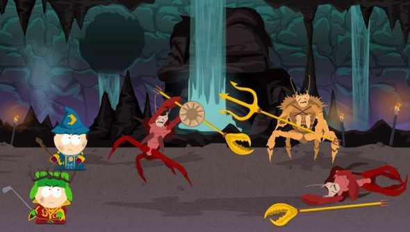 South Park: The Stick of Truth featured the first turn-based combat system Obsidian had ever built.