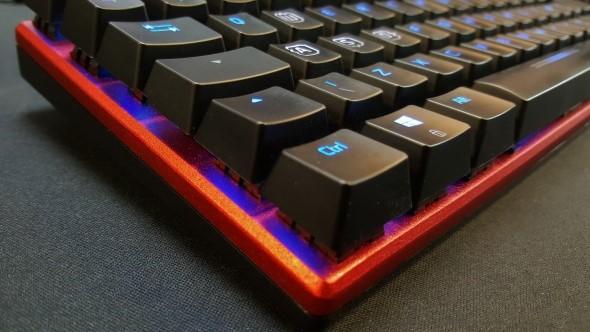Speedlink Ultor gaming keyboard layout