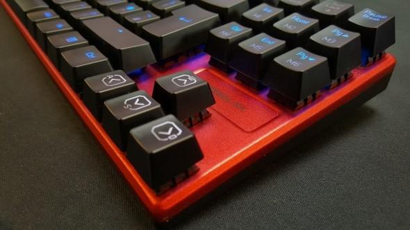 Speedlink Ultor gaming keyboard design