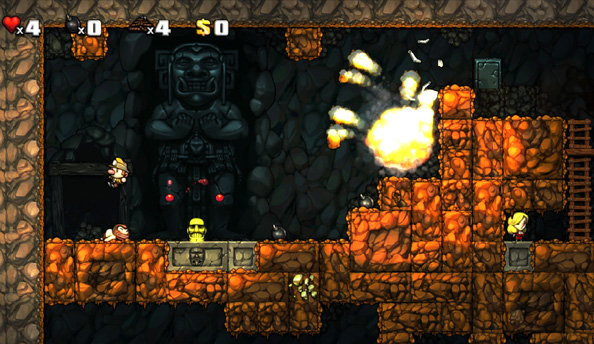 Spelunky post-XBLA dated for August 8 on PC